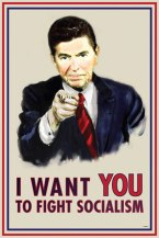 Reagan wants you to fight socialism